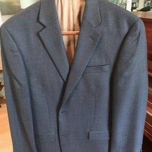 Blue/Grey Izod Men's Sports Coat 42L